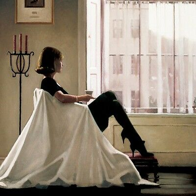 Jack Vettriano - In Thoughts of You - Art Print - 40x50cm