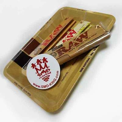 RAW Mini Rolling Tray Survivors Gift Set by SMO-KING