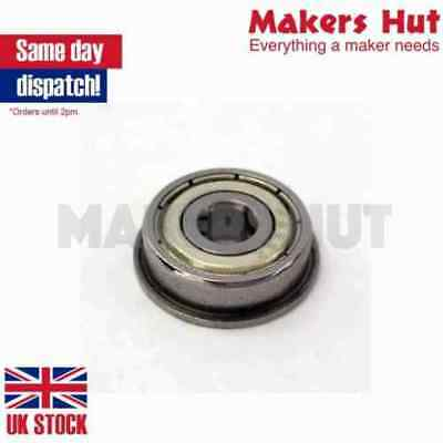 F624ZZ Shielded Model Flange Bearing 4 x 13 x 5mm