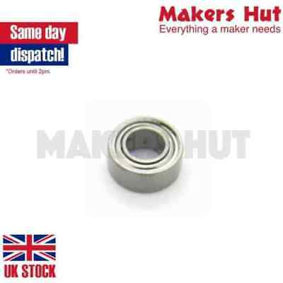 MR63ZZ 3X6X2.5 Miniature Deep Groove Ball Bearing Double Shielded ZZ