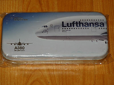 New Lufthansa Business Class Amenity Kit Metal Box Airbus A 380 Limited Edition