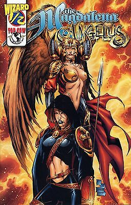 MAGDALENA & ANGELUS #1/2  WIZARD  KEU CHA-COVER  TOP COW VARIANT     Witchblade