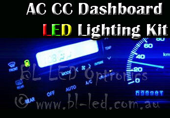 Air Con Climate Control LCD LED SMD Light Upgrade For Nissan Skyline & Stagea
