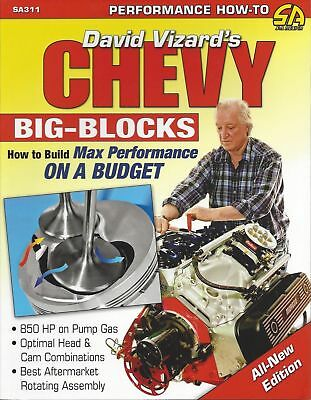 Chevy 396 427 454 Book How To Build Max Performance Big Blocks On A Budget Sa311