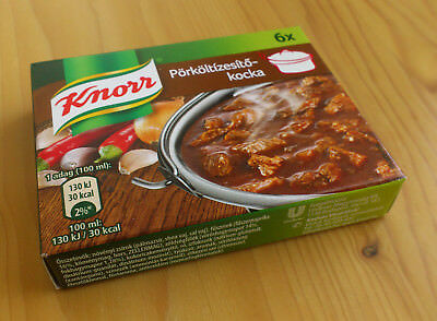 HUNGARIAN STEW BROTH Cube Knorr 6 cubes good for Paprika Chicken 60g / 2 1  oz