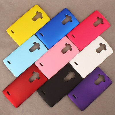 For LG G4 Beat G4S Rubberized Matte Snap On hard case back cover