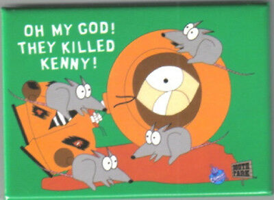 South Park, Oh My God! They Killed Kenny! Refrigerator Magnet, NEW UNUSED