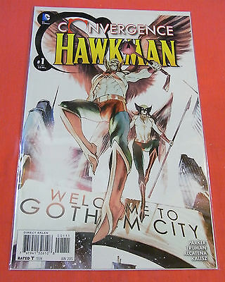 CONVERGENCE HAWKMAN #1 - bagged & boarded..!! (2015)