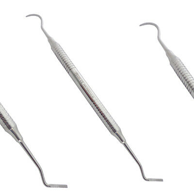 Band pusher scaler Medium head Band Seater Double Ended Scaler Ortho Instruments