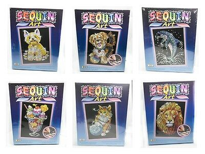 Sequin Art and Beads and Sequin Art Original - Many Designs to Choose From