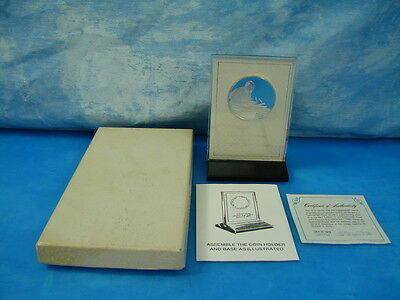 Solid Sterling Silver Limited Edition 1979 Pope John Paul II, Franklin Mint