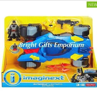 Imaginext Batman Transforming Batmobile DC SuperFriends Dawn of Justice SYD NEW!