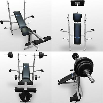 BodyRip Folding Weight Bench Gym Exercise Lifting Chest Press Leg Fitness