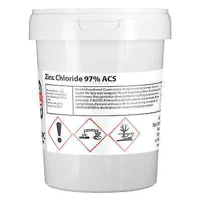 Zinc Chloride Ultrapure 1KG (used in electroplating) *Professional Seller*