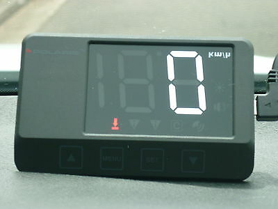 POLARIS GPS HUD Speedometer Heads Up Display On  Windscreen Green Display
