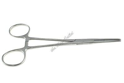 Kelly Forceps LOCKING HEMOSTAT CLAMPS For Dental & Surgical Use - 15cm STRAIGHT