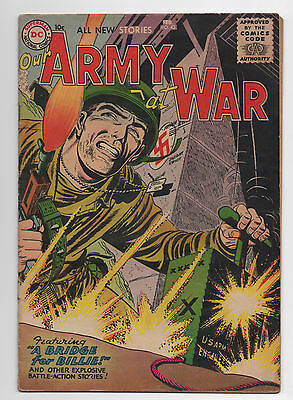 Dc Comics   Our Army At War  43  1956