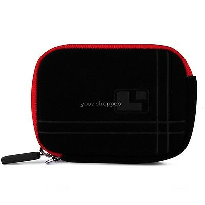 Microfiber Camera Sleeve Case Cover For Canon PowerShot ELPH 180/ 190 IS/ 360 HS