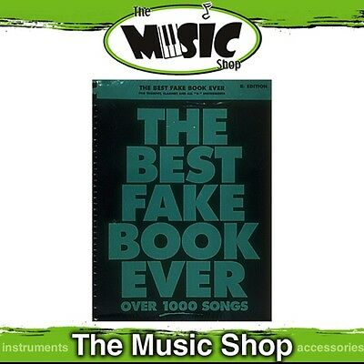 New The Best Fake Book Ever Music Songbook for 'B Flat' Instruments - 2nd Ed.