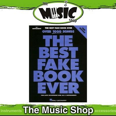 New The Best Fake Book Ever Music Songbook for 'E Flat' Instruments - 2nd Ed.