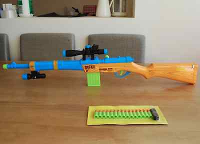 Toy Prop Costume Assault Sniper Rifle Gun Shoot Bullets