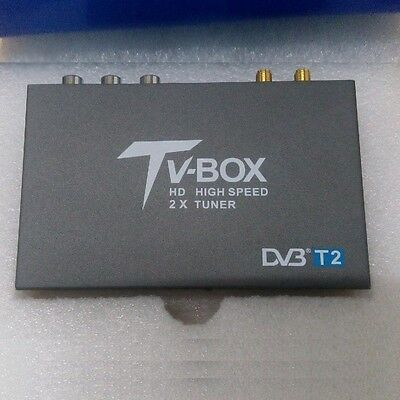 Freeview Car TV receiver DVB-T2 standards High Speed H.264 Tuner Box HDMI 1080P