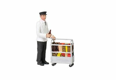 Bachmann 22-185 Service Person With Minibar G Gauge Model Railway People
