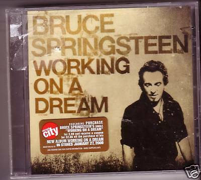 """BRUCE SPRINGSTEEN """"Working on a dream"""" 1 Track MAXI USA"""