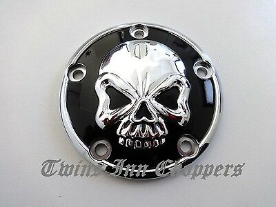 Harley Point Cover Skull 99 -18 Zündung Deckel Twin Cam Softail Touring Dyna FX