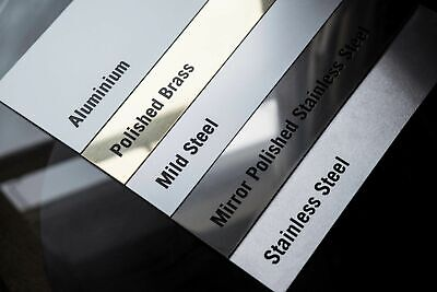 SHEET METAL(various thicknesses and materials.)Listing 3 for new sizes