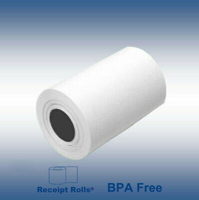 "Credit Card 2 1/4"" x 50' Thermal Paper Rolls Nurit 8000 - 50 Rolls/case"