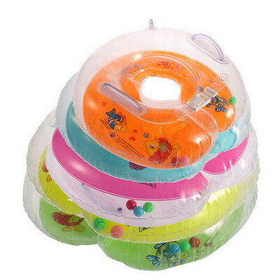 New Baby Aids Infant Swimming Neck Float Inflatable Tube Ring Safety OV