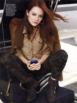 """Emma Stone Movie Girl Star Wall Poster 32/""""x24/""""  S18"""