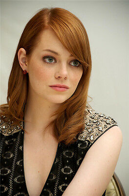 "Emma Stone Movie Girl Star Wall Poster 36""x24""  S25"
