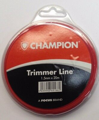 BOSCH ELECTRIC STRIMMER TRIMMER LINE 1.5mm 20 mtrs ROLL