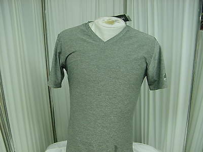 Official NBA Authentics Team Issued adidas Gray Techfit T-shirt Size- XL+2