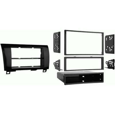 Metra 99-8220HG Single/Double DIN Dash Kit for 2007-up Toyota Tundra/Sequoia
