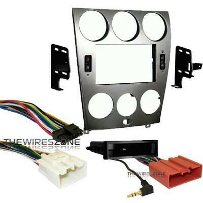 Metra 99-7523S Single/Double DIN Stereo Install Dash Kit for 2003-2005 Mazda 6