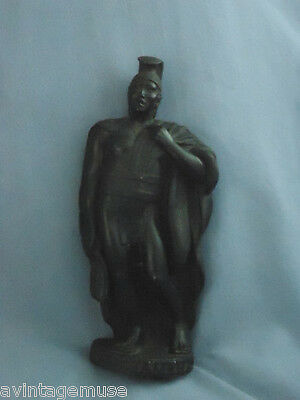 KING KAMEHAMEHA I LAVA FIGURAL HAWAIIAN Mini STATUE HAWAII 1974 HIP ORIGINAL