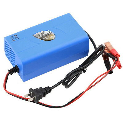 12V 6A Motorcycle Car Boat Marine RV Maintainer Battery Automatic Charger CC