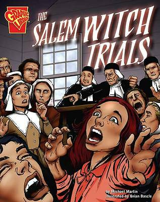 The Salem Witch Trials (Graphic History),Martin, Michael,New Book mon0000056223