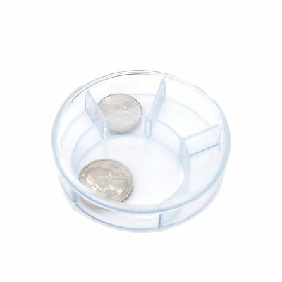 CNTB027  3 Multipurpose Sectioned Circle Shaped Bead Jewelry Supply Organizer