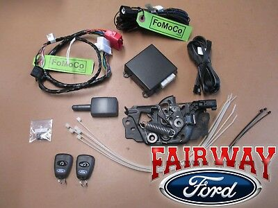16 - 17 Focus OEM Genuine Ford Remote Start & Security System Kit w/ Manual Temp