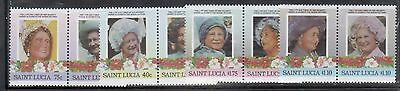 St Lucia 782-85 Queen Mother  Mint NH