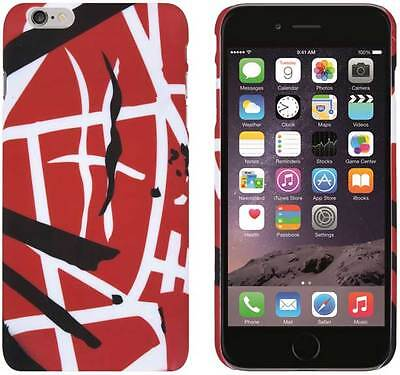 Edward Eddie Van Halen RED STRIPES Iphone 6/6S Snap On Cell Phone Case Cover