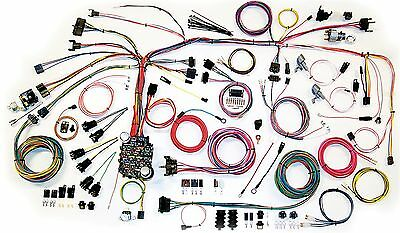 1967-1968 Camaro American Autowire Classic Update Wiring Harness Kits 500661