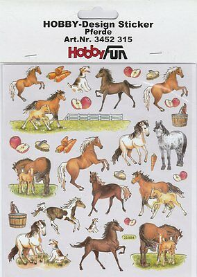 Hobby-Design Stickers 3452-315 Cheval Horse
