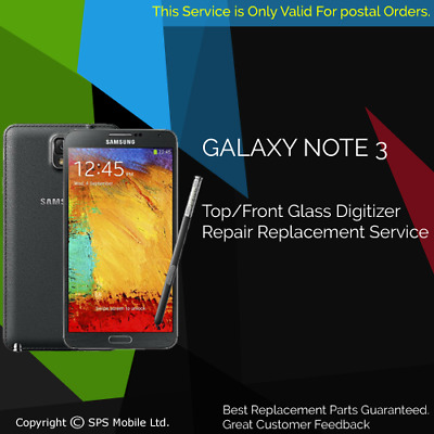 Samsung Galaxy NOTE 3 Top Glass Screen Replacement Service