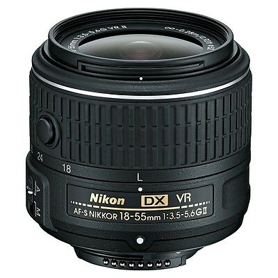 NEW Nikon AF-S NIKKOR 18-55mm f/3.5-5.6G VR II DX Lens - On *SALE*