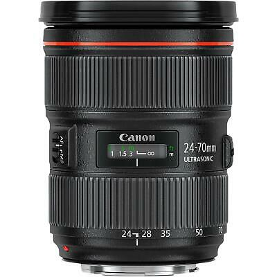Canon EF 24-70mm f/2.8L II USM Lens for Canon 5DS R 7D 5D 6D